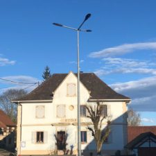 Eclairement LED mairie