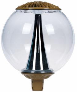 Boule LED marron