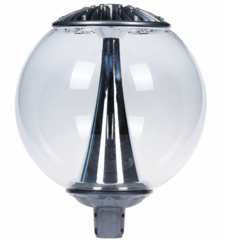 Boule LED urbain transparente