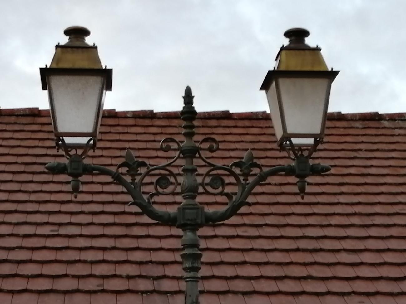 Lanterne avant relamping